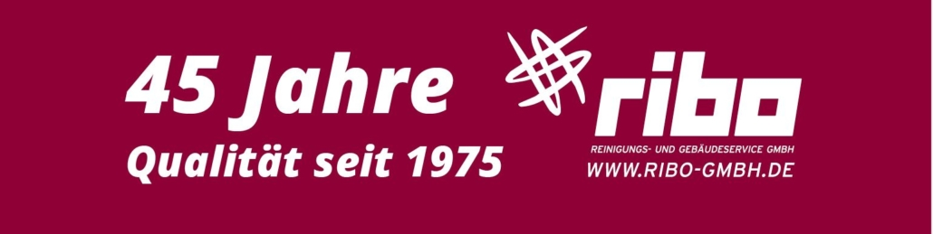 Banner 45 Jahre RIBO